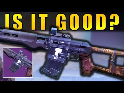 Destiny 2: IS IT GOOD?   Guiding Star Legendary Dead Orbit Auto Rifle