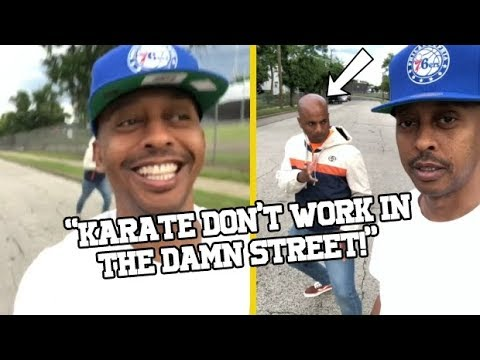 Gillie Da King Tells His Cousin That Karate S**T Don't Work In The Street!