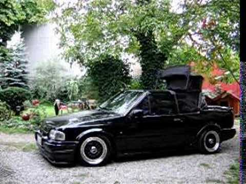 ford escort cabrio mk4 aka 39 penelope 39 electric roof youtube. Black Bedroom Furniture Sets. Home Design Ideas