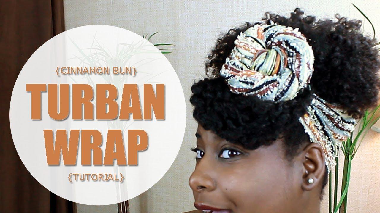 how to make a turban hair wrap
