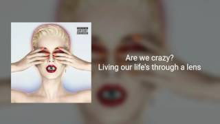 Download Katy Perry - Chained To The Rhythm feat. Skip Marley (Official instrumental + lyrics on screen) MP3 song and Music Video
