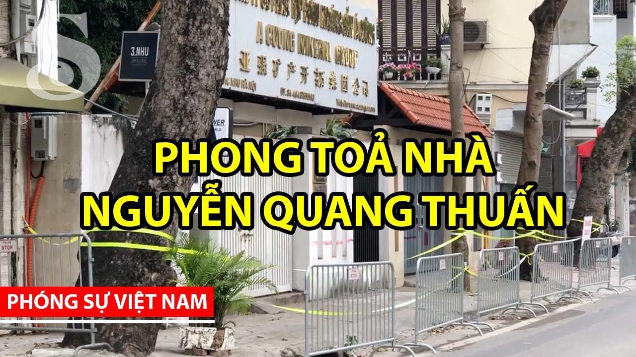 PHONG TOẢ NHÀ NGUYỄN QUANG THUẤN II Saigon Nhỏ
