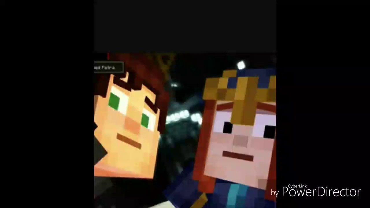 Minecraft Story Mode Jetra Kissing Slideshow