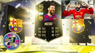 OMG I GOT INFORM 95 MESSI!! FIFA 20 Ultimate Team #02