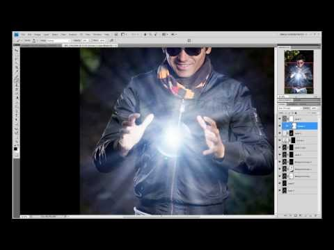 how to make a rasengan in photoshop