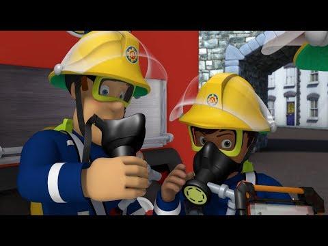 Feuerwehrmann Sam Deutsch 🔥Neue 🔥Katze mit dem Feuerwehrauto retten  🚒 Zeichentrick für Kinder