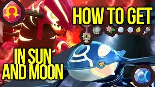How to Get Primal Kyogre + Groudon Items in Pokemon Sun and Moon | Austin John Plays