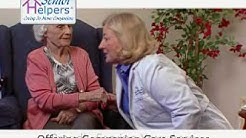 Senior Helpers In Home Health Care of Care of Burlington County and Camden County NJ TV Spot.wmv