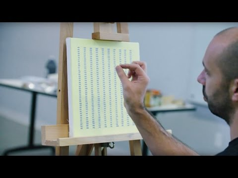 How to paint like Agnes Martin | IN THE STUDIO