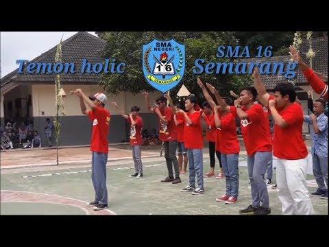 Temon holic - Suket teki SMA N 16 Semarang bersama permen KIS