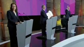 Mexico's presidential candidates hold first televised debate of 2018