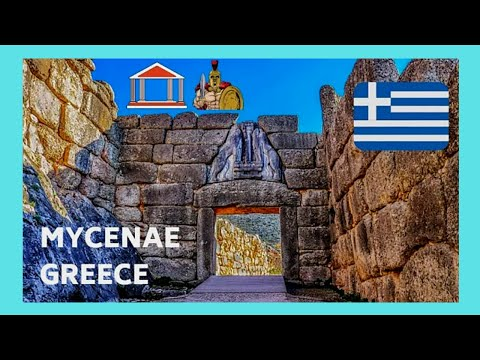 GREECE, the 1,500BC historic tomb of AGAMEMNON, ANCIENT MYCENAE  (Μυκήνες)