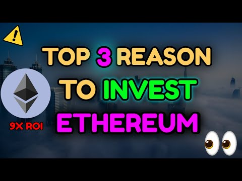 TOP 3 REASONS TO BUY ETHEREUM ❗ Price Prediction, Technical Analysis, Crypto News.