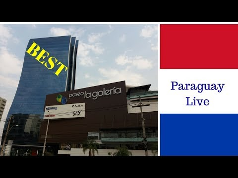"BEST Shopping Center in Asuncion Paraguay (2) - PASEO ""LA GALERÍA"""