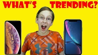 WHAT'S TRENDING? NEW IPHONE XS MAX, XR, FUNNY MEME, HURRICANE FLORENCE -  WEEKLY NEWS   CollinTV