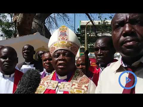 Mombasa Anglican Church of Kenya after a section of clergy dispute the election