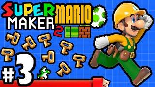 Super Mario Maker 2 Player - Nintendo Switch Gameplay Walkthrough PART 3: Keymaster's Secret Coins