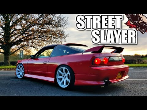 🐒 THE STREET SLAYER! HKS UPGRADED 180SX S13 REVIEW