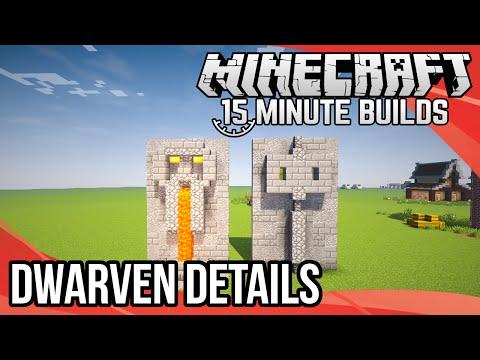 Minecraft 15-Minute Builds: Dwarven Details