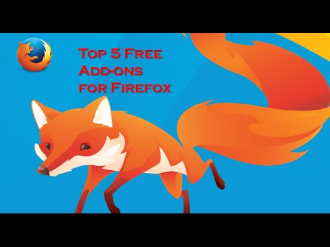 5 Best plugins for Mozilla Firefox