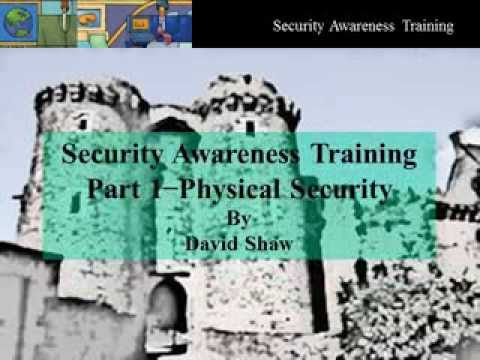 Physical Security (Part 1 - Security Awareness)
