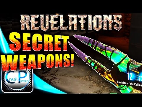 BO3 Revelations Easter Egg - SECRET MELEE WEAPONS! Black Ops 3 Zombies Time Attack (Time Trials)