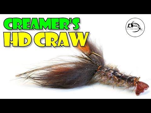 Creamer's HD Craw -- KILLER Smallie Pattern