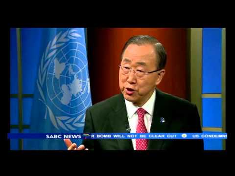 Ban Ki Moon lauds SA for laying foundation in Climate Change deal