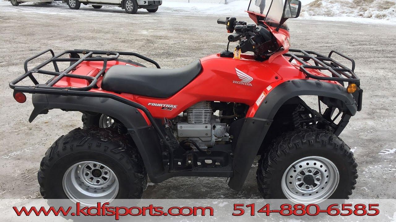2003 Honda Rancher 350 >> Honda Rancher 350 - TRX 350 ES 2004 - YouTube