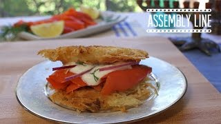 Latke Sandwich | Assembly Line