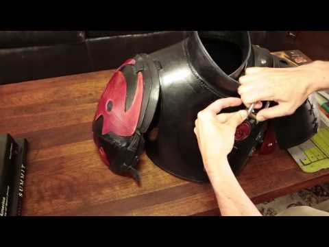 How To Train Your Dragon 2 Costume Upper Armor Part 2 Youtube