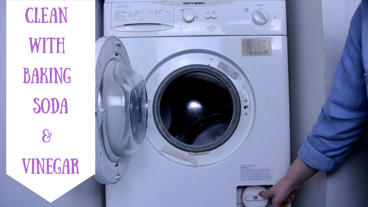 Clean Front Loading Washing Machine Vinegar Baking Soda
