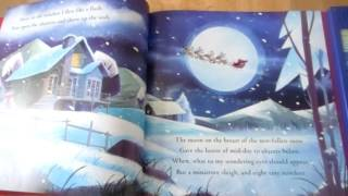 This is a gorgeous gift edition of the traditional and much-loved christmas poem with sound panel to play music sounds. wonderful illustratio...