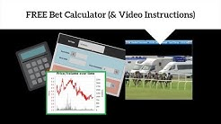 FREE Bet Calculator (+Video Instructions)