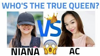 Video Niana vs AC Bonifacio !! Who is more famous and the true queen ? Juju on that beat!! download MP3, 3GP, MP4, WEBM, AVI, FLV April 2018