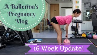 16 weeks pregnant –Trying to dance again! +Belly shot at the end!