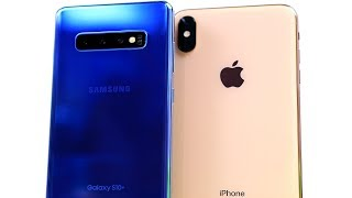 Galaxy S10 Plus vs iPhone XS Max Long Term Update