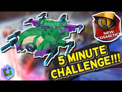 Robocraft - Body Builder 5 Minute Challenge!