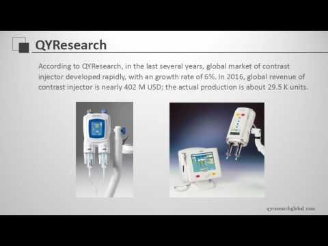 QYResearch: Global Contrast Injector Market Will be 505 M USD in 2022