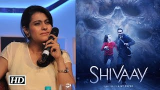 Kajol's This Reaction On Hubby Ajay Devgn's 'Shivaay' TRAILER Is Unbelievable