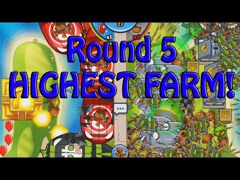 Bloons TD Battles - SUPER FAST HIGHEST LEVEL BANANA FARM