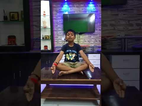 Shiv tandav by eight year child shivansh