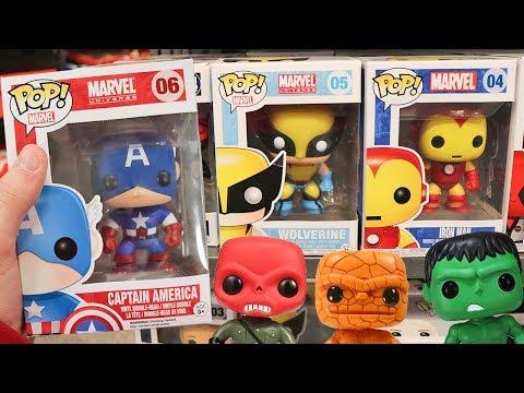 OG Marvel Comics Pop Hunting