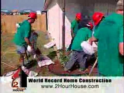 World Record 2 Hour House - Exemplary Corporate Leadership