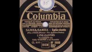 """Lyne Clevers """" Samba-Samba """"  1946"""