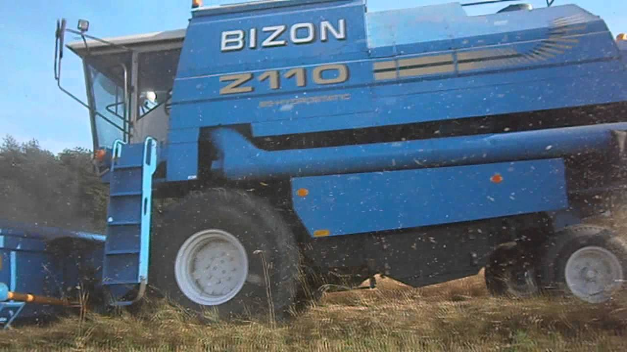 Żniwa  2012  Bizon BS-Z110