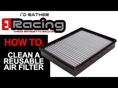 How To Clean An Aftermarket Reusable Air Filter