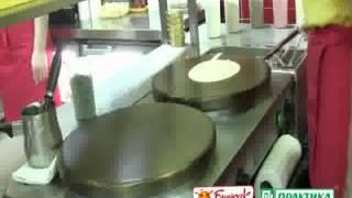 Оборудование по приготовлению блинов