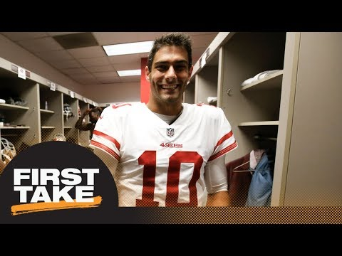 First Take reacts to Jimmy Garoppolo singing 5-year, $137M deal with 49ers | First Take | ESPN