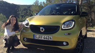 The All-New 2015 Smart fortwo & forfour Test Drive
